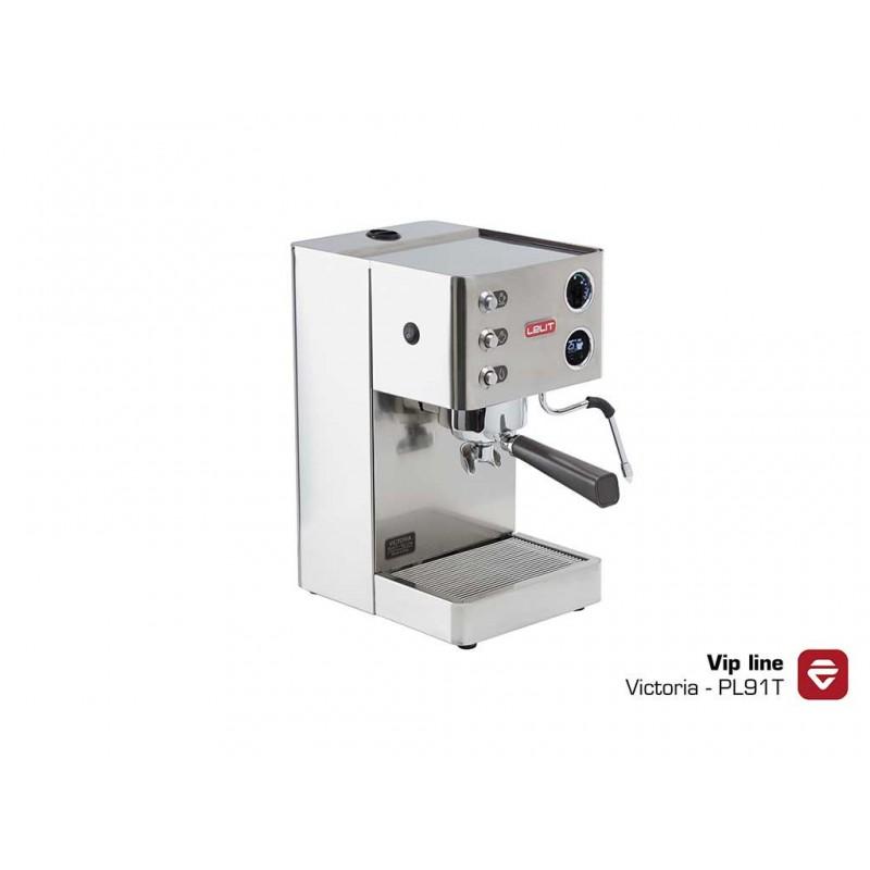 Lelit Victoria PL91T espresso kávovar VIP má LCC displej s timerom